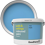 GoodHome Walls & ceilings Frejus Matt Emulsion paint, 2.5L