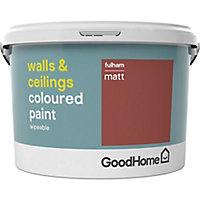 GoodHome Walls & ceilings Fulham Matt Emulsion paint 2.5L