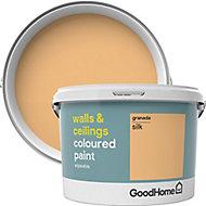 GoodHome Walls & ceilings Granada Silk Emulsion paint, 2.5L