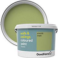 GoodHome Walls & ceilings Greenhills Matt Emulsion paint, 2.5L