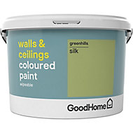 GoodHome Walls & ceilings Greenhills Silk Emulsion paint, 2.5L