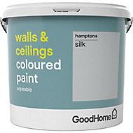 GoodHome Walls & ceilings Hamptons Silk Emulsion paint, 5L