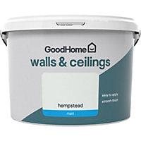 GoodHome Walls & ceilings Hempstead Matt Emulsion paint, 2.5L