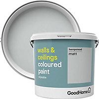 GoodHome Walls & ceilings Hempstead Matt Emulsion paint, 5L