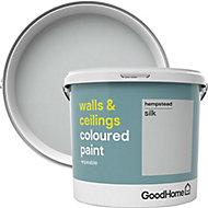 GoodHome Walls & ceilings Hempstead Silk Emulsion paint, 5L