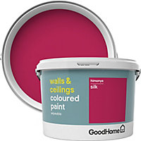 GoodHome Walls & ceilings Himonya Silk Emulsion paint, 2.5L