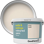 GoodHome Walls & ceilings Juneau Matt Emulsion paint, 2.5L