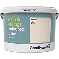 GoodHome Walls & ceilings Juneau Silk Emulsion paint, 2.5L