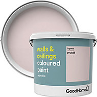 GoodHome Walls & ceilings Kyoto Matt Emulsion paint 5L