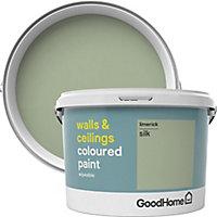 GoodHome Walls & ceilings Limerick Silk Emulsion paint, 2.5L