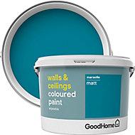 GoodHome Walls & ceilings Marseille Matt Emulsion paint, 2.5L