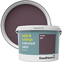 GoodHome Walls & ceilings Mayfair Silk Emulsion paint 2.5L