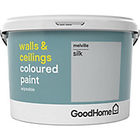 GoodHome Walls & ceilings Melville Silk Emulsion paint, 2.5L