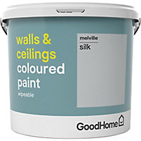 GoodHome Walls & ceilings Melville Silk Emulsion paint, 5L