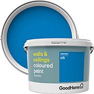 GoodHome Walls & ceilings Menton Silk Emulsion paint, 2.5L