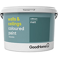 GoodHome Walls & ceilings Milltown Matt Emulsion paint, 2.5L