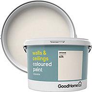 GoodHome Walls & ceilings Ottawa Silk Emulsion paint, 2.5L