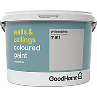 GoodHome Walls & ceilings Philadelphia Matt Emulsion paint, 2.5L