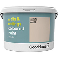 GoodHome Walls & ceilings Santa fe Matt Emulsion paint, 2.5L