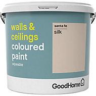 GoodHome Walls & ceilings Santa fe Silk Emulsion paint, 5L