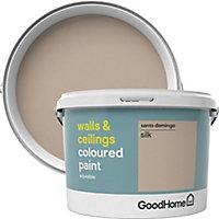 GoodHome Walls & ceilings Santo domingo Silk Emulsion paint, 2.5L