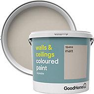 GoodHome Walls & ceilings Tijuana Matt Emulsion paint, 5L