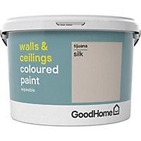 GoodHome Walls & ceilings Tijuana Silk Emulsion paint, 2.5L