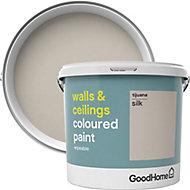 GoodHome Walls & ceilings Tijuana Silk Emulsion paint, 5L