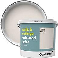 GoodHome Walls & ceilings Valdez Matt Emulsion paint, 5L