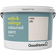 GoodHome Walls & ceilings Valdez Silk Emulsion paint, 2.5L