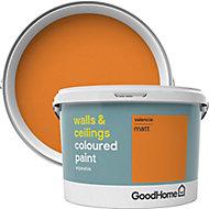 GoodHome Walls & ceilings Valencia Matt Emulsion paint, 2.5L