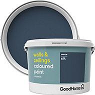 GoodHome Walls & ceilings Vence Silk Emulsion paint, 2.5L