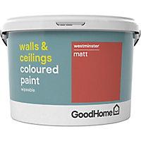 GoodHome Walls & ceilings Westminster Matt Emulsion paint 2.5