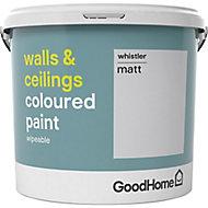 GoodHome Walls & ceilings Whistler Matt Emulsion paint, 5L