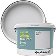 GoodHome Walls & ceilings Whistler Silk Emulsion paint, 2.5L