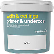 GoodHome Walls & ceilings White Wall & ceiling Primer & undercoat, 5L