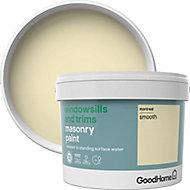 GoodHome Windowsills & trims Montreal Smooth Matt Masonry paint, 2.5L