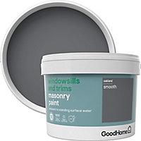 GoodHome Windowsills & trims Oakland Smooth Matt Masonry paint, 2.5L