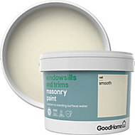 GoodHome Windowsills & trims Vail Smooth Matt Masonry paint, 2.5L