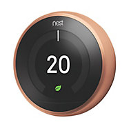 Google Nest 3rd Generation Learning thermostat Copper