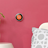 Google Nest Generation 3 Learning thermostat Silver