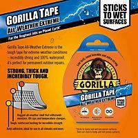 Gorilla Black Cloth Tape (L)11m (W)48mm