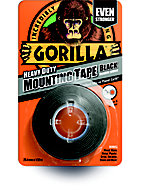 Gorilla Black Double-sided Tape (L)1.5m (W)25.4mm
