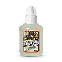 Gorilla Clear Liquid Glue, 50ml