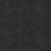 Graham & Brown Black Crocodile skin Textured Wallpaper