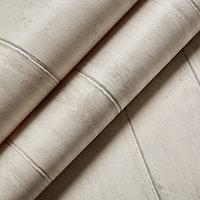 Graham & Brown Contour White Whitewashed Blown Wallpaper