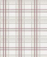 Graham & Brown Superfresco Easy Burgundy Striped Metallic effect Embossed Wallpaper