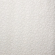 Graham & Brown Superfresco White Snow Textured Wallpaper