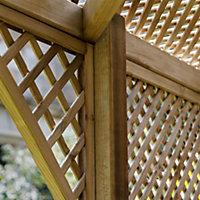 Grange Softwood Corner lattice Arbour
