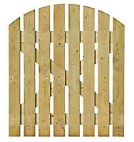 Grange Timber Domed Gate, (H)1.05m (W)0.9m